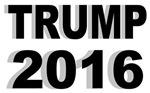 Trump 2016 Shadow text