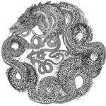 Jormungandr the Midgard Serpent