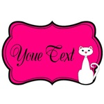 Personalizable Cat Pink
