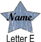 Blue Star names - Letter E