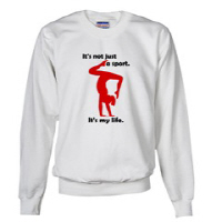 Gymnastics Sweatshirts by Gymnastics Stuff