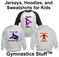 Gymnastics Hoodies, Sweatshirts, & Jerseys