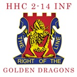HHC 2-14 INF - Golden Dragons