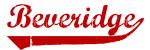 Beveridge (red vintage)
