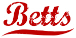 Betts (red vintage)
