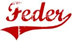 Feder (red vintage)