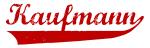 Kaufmann (red vintage)