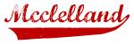 Mcclelland (red vintage)