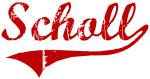 Scholl (red vintage)
