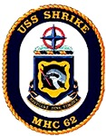 USS Shrike MHC-62 Navy Ship