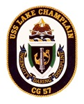 USS Lake Champlain CG-57 Navy Ship