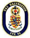 USS Halyburton FFG-40 Navy Ship