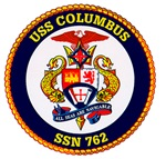 USS Columbus SSN 762 Navy Ship