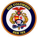 USS Columbus SSN 762 Navy Ship