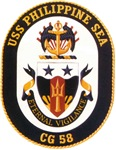 USS Philippine Sea CG 58 US Navy Ship