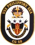 USS Philippine Sea CG 58 US Navy Ship