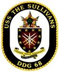 USS The Sullivans DDG 68 US Navy Ship