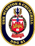 USS Winston S. Churchill DDG 81 US Navy Ship