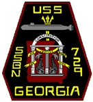USS Georgia SSBN 729 US Navy Ship