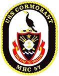 USS Cormorant MHC 57 US Navy Ship