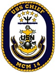 USS Chief MCM 14 US Navy Ship