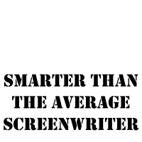Smarter than the average screenwriter