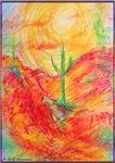Desert, cactus, southwest art!