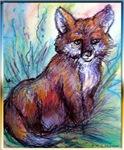 Red fox! wilflie art!