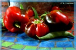 Peppers, red peppers, photo,