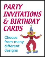 BIRTHDAY CARDS & INVITATIONS