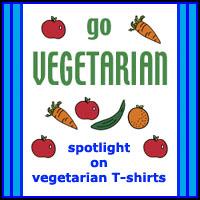 SPOTLIGHT ON VEGETARIAN T-SHIRTS