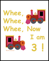 TRAINS FOR 3 YEAR OLDS