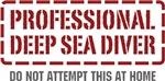 Professional Deep Sea Diver