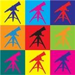 Astronomy Pop Art