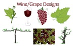 Grape/Wine Designs