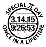 Special Pi Day