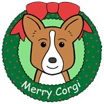 Cardigan Welsh Corgi Christmas Ornaments