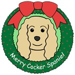 Cocker Spaniel Christmas Ornaments