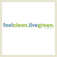 Feel clean Live green