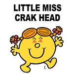 Little Miss Crak Head -Yel.