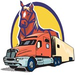 Truck and Horse