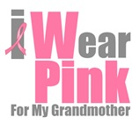 I Wear Pink For My Grandmother T-Shirts & Gifts