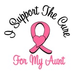 I Support The Cure For My Aunt T-Shirts