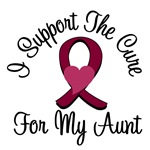 I Support The Cure Myeloma (Aunt) T-Shirts