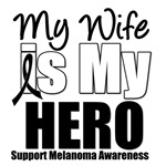 Melanoma Hero (Wife) T-Shirts & Gift