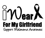 I Wear Black Ribbon For My GirlFriend T-Shirts &