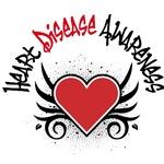 Heart Disease Awareness Tattoo Shirts & Gifts