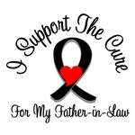 I Support The Cure Melanoma Father-in-Law Shirts