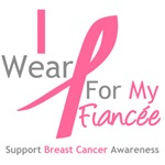 I Wear Pink For My Fiancee Shirts & Tees