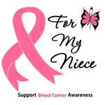 Breast Cancer For My Niece Shirts & Gifts